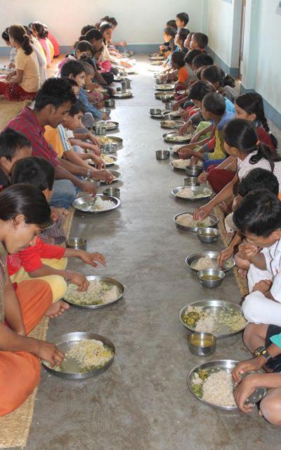 Déjeuner des enfants