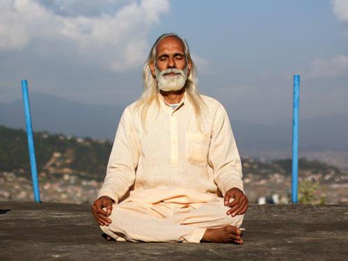 Ramchandra en méditation