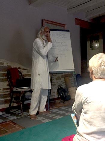 Cours de Ramchandra sur les mantras et le sanskrit
