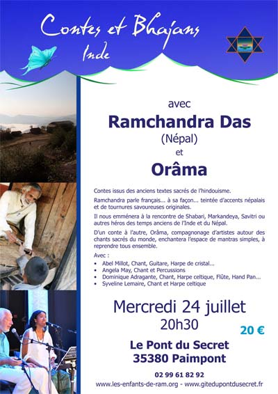 Spectacle solidaire avec Ramchandra