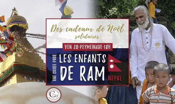 Vente solidaire au retour du Népal