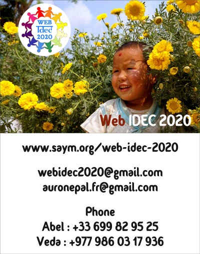 Carte de visite Web IDEC 2020
