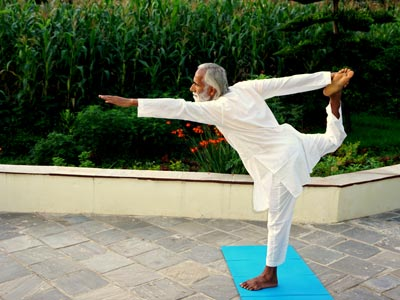 Yoga avec Ramchandra
